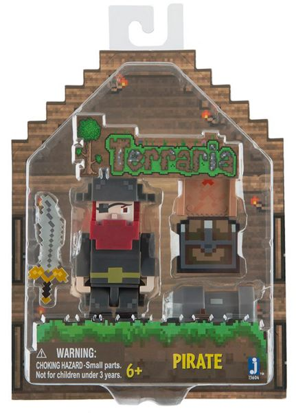 Terraria Pirate Figure With Accessories
