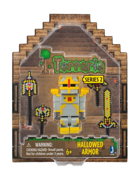 Terraria Hallowed Armour Figure With Accessories
