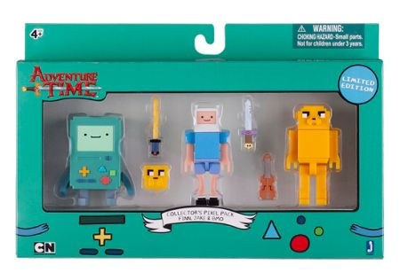 Adventure Time Collector`s Pixel Figure Pack