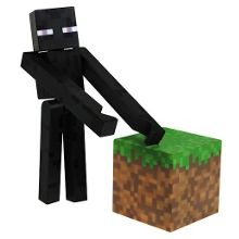 Minecraft enderman action figure