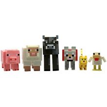 Hasbro Minecraft animals six figure pack