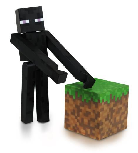 Minecraft Endermen 3 inch Figure