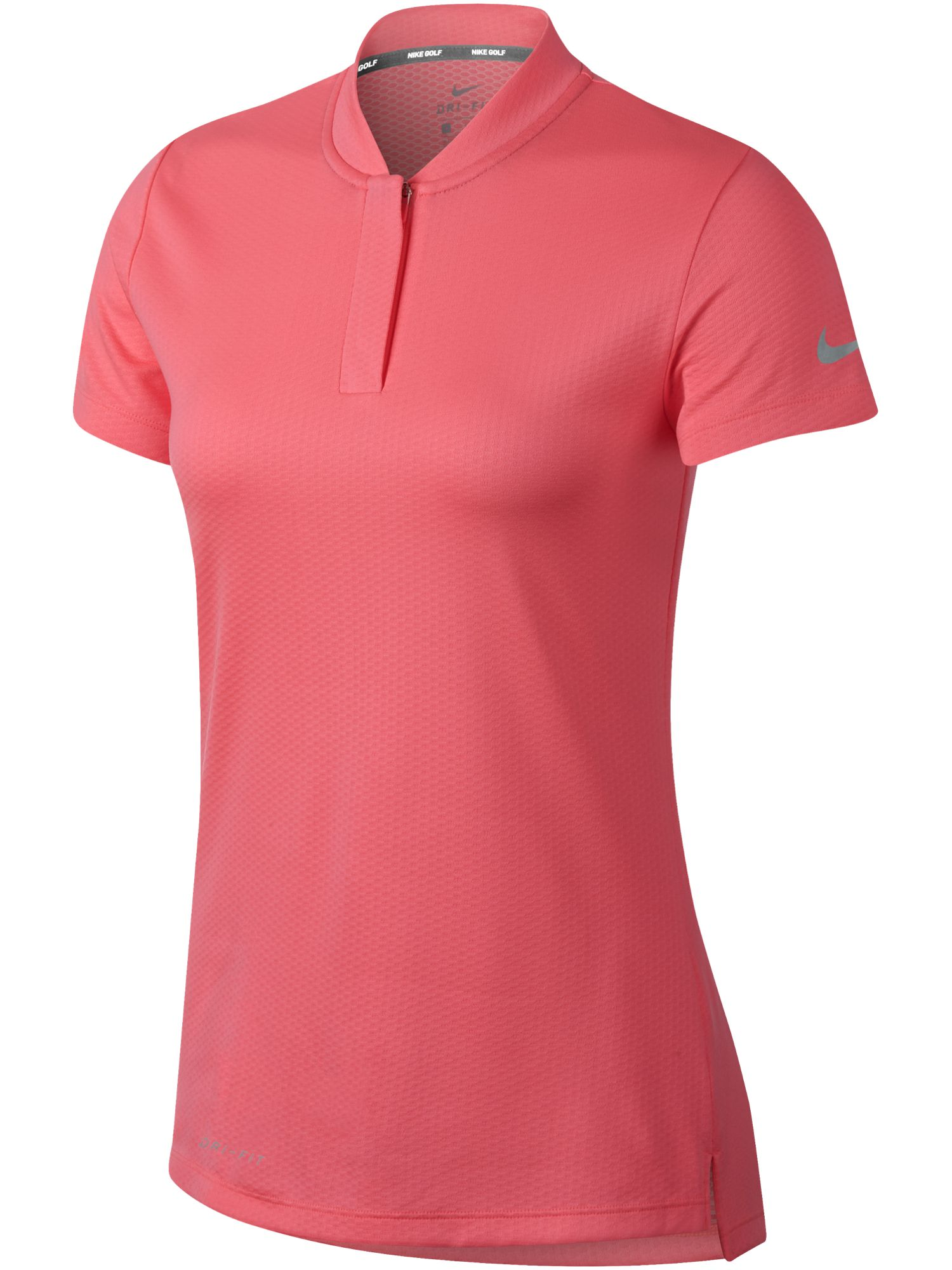 Nike Golf Short Sleeve Blade Polo, Pink Silverlic