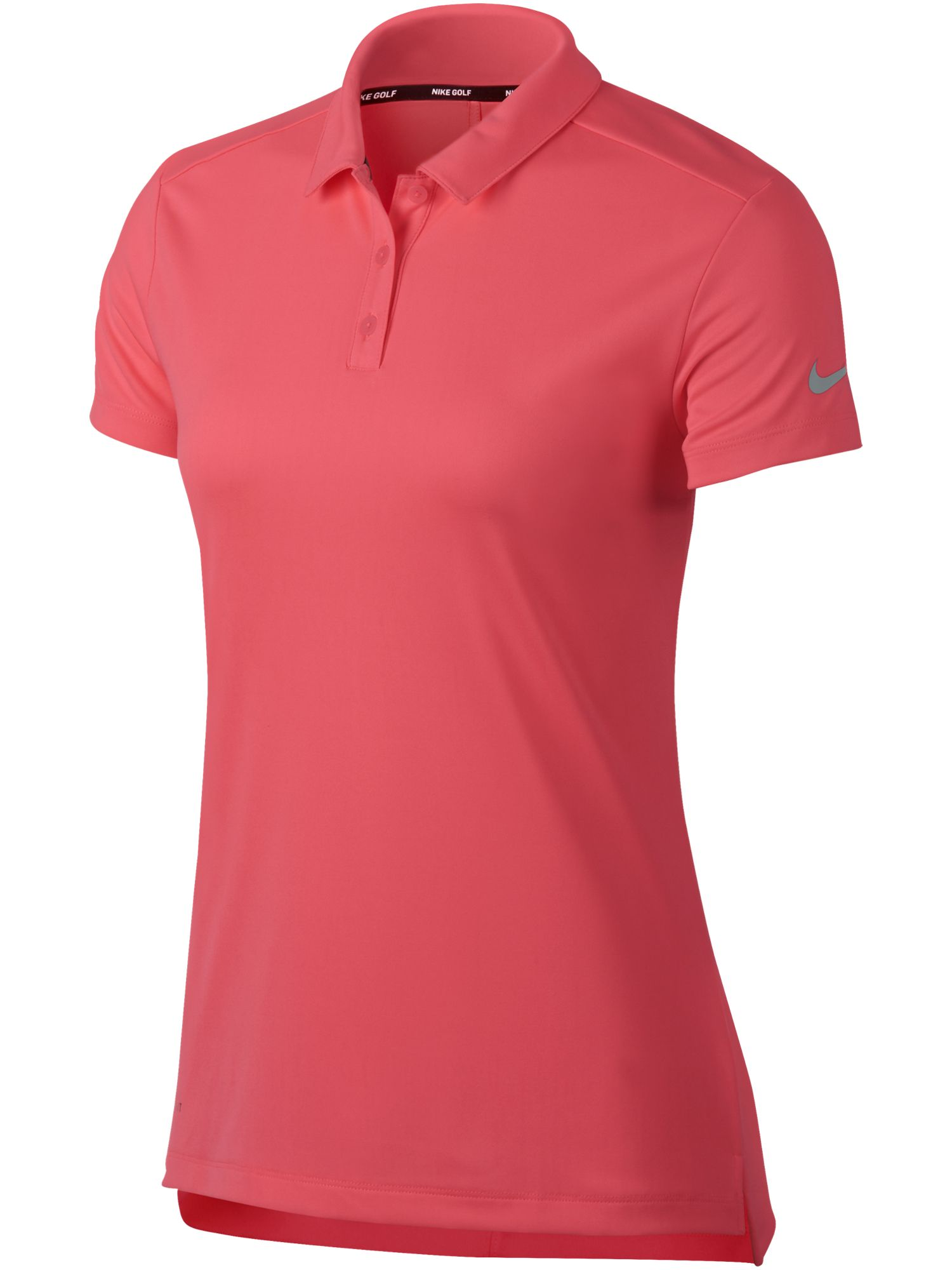 Nike Golf Dry Short Sleeve Polo, Hot Pink