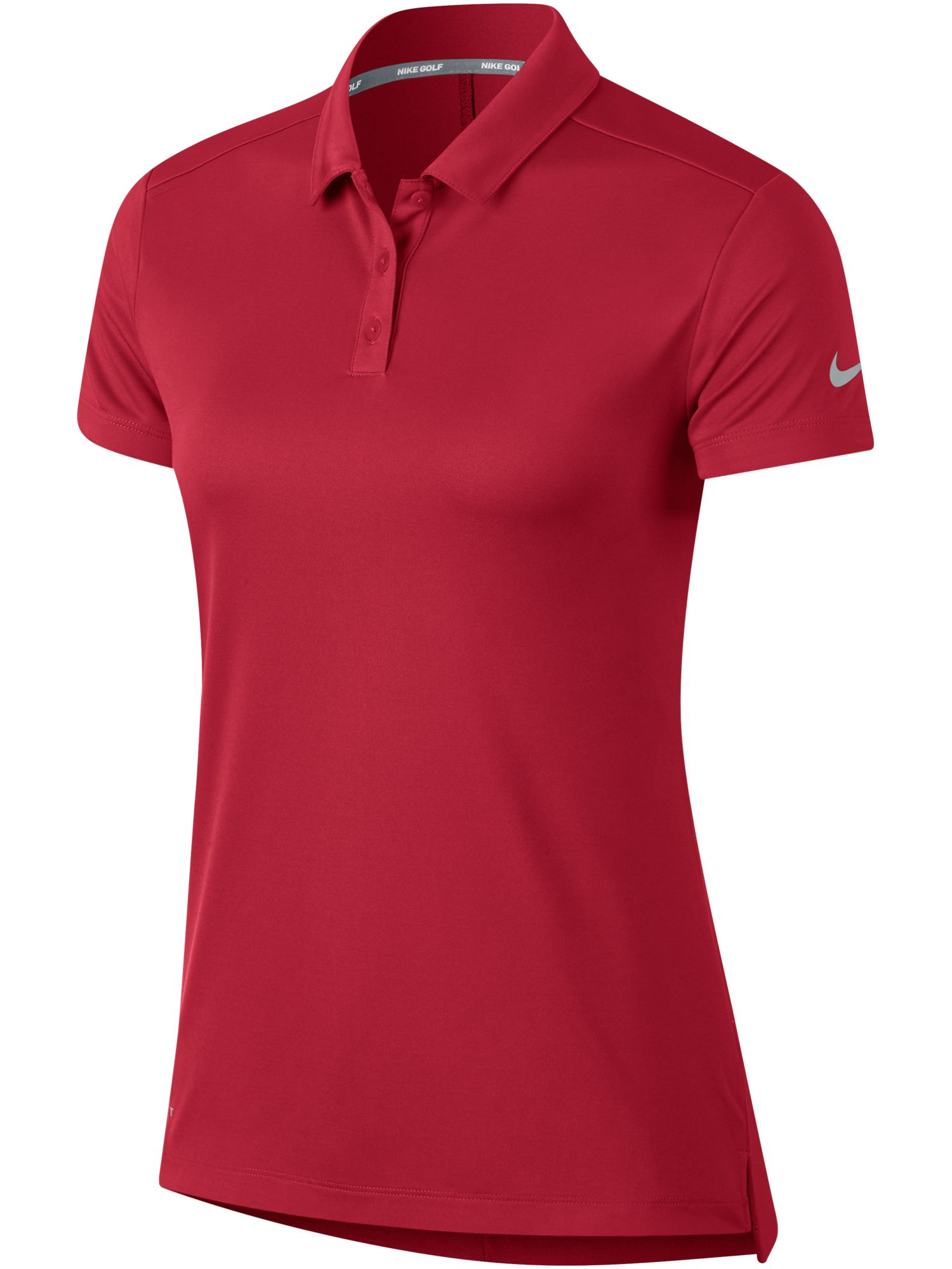 Nike Golf Dry Short Sleeve Polo, Pink Silverlic