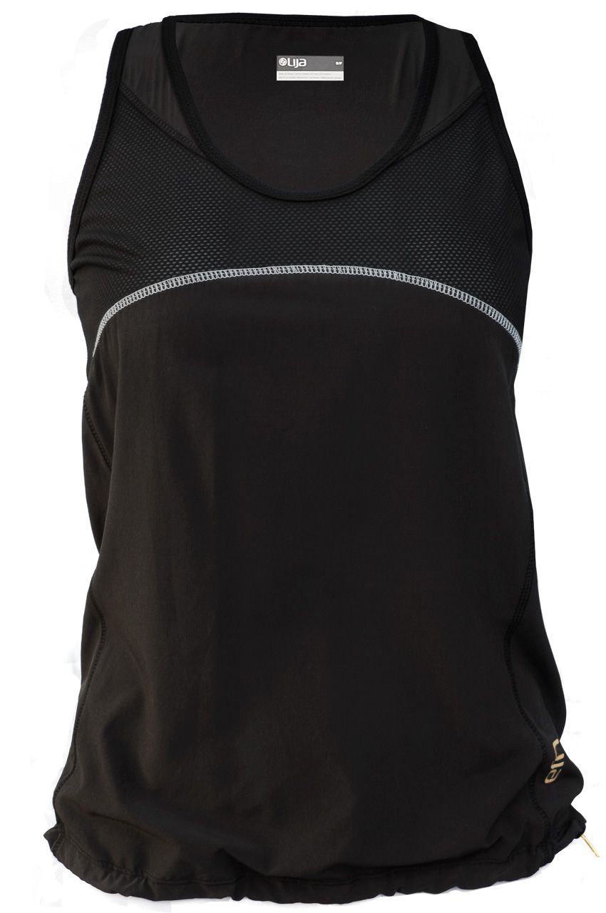 Pursuit Fitted Run Tank Top