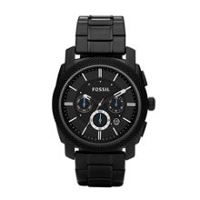 Fossil FS4552 Machine Black Mens Sports Watch