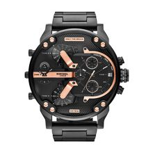 Diesel Mr Daddy Black Mens Bracelet Watch