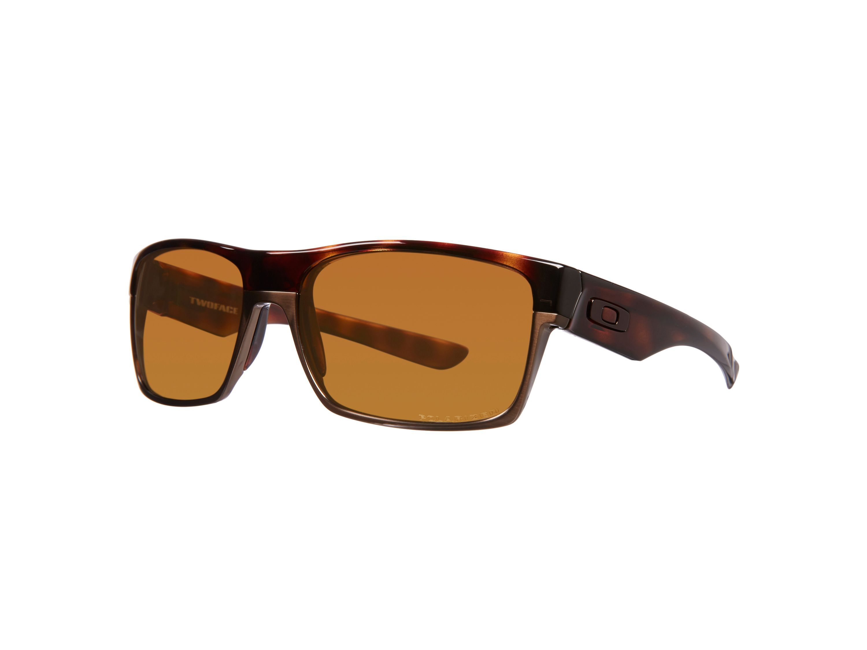 Men`s tungsten iridium polarized square sunglasse