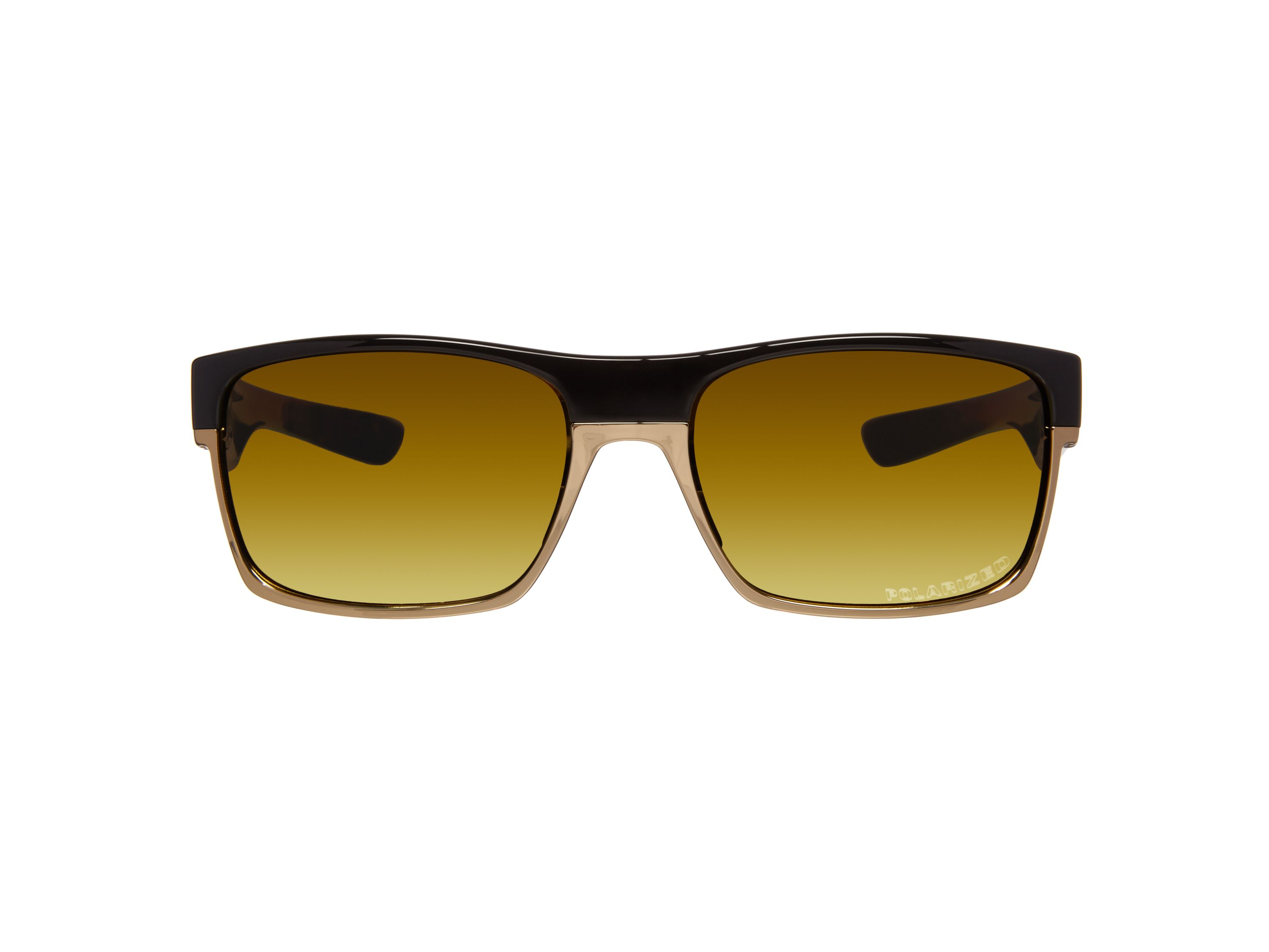Men`s 24k iridium polarized square sunglasses