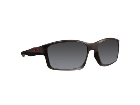 Oakley Men black iridium rectangle sunglasses
