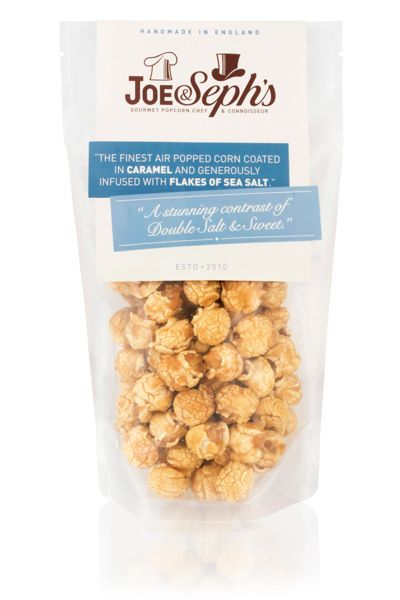 Joe & Seph's Double salted caramel popcorn