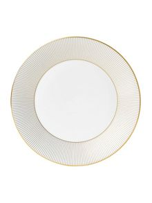 Wedgwood Jasper conran bone china gold banded plate 27cm