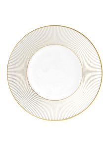 Jasper conran bone china gold pinstripe plate 23c