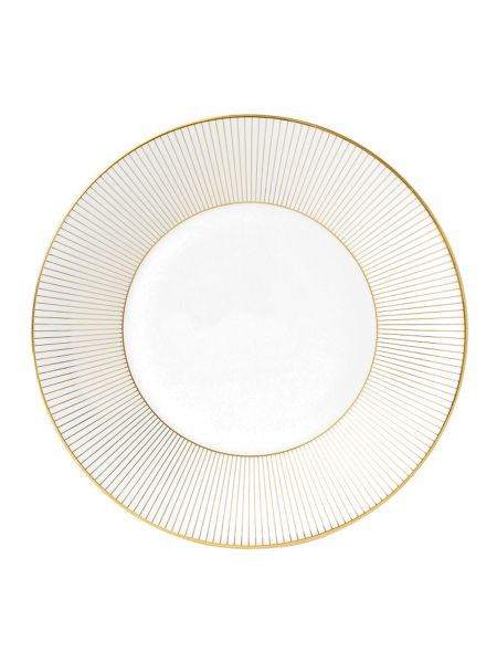 Wedgwood Jasper conran bone china gold pinstripe plate 23c