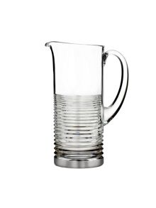 Mixology pitcher with platinum band