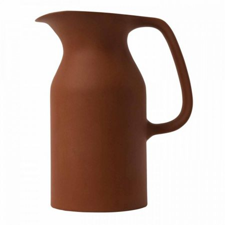 Royal Doulton Barber and Osgerby Olio Red Jug 17.5cm
