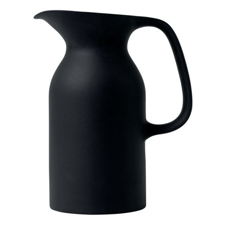 Royal Doulton Barber and Osgerby Olio Black Jug 21.5cm