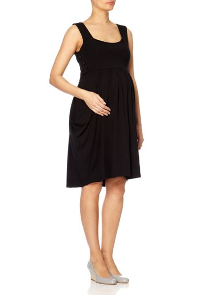 Bibee Maternity Cowl-front dress