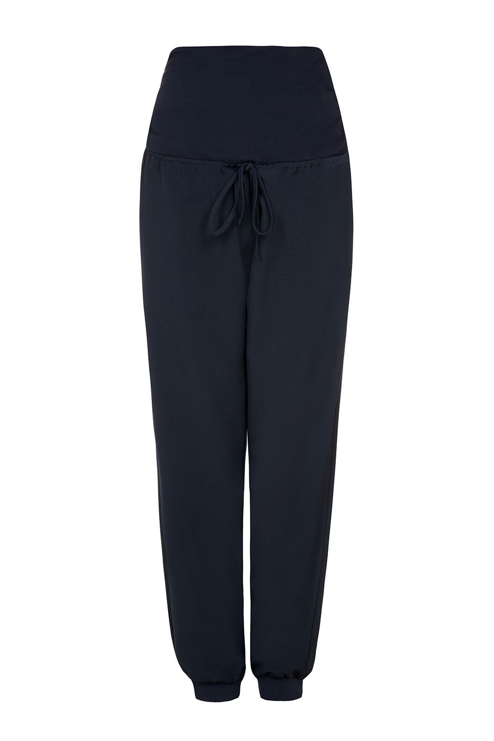Bibee Maternity Jogging Trousers, Navy