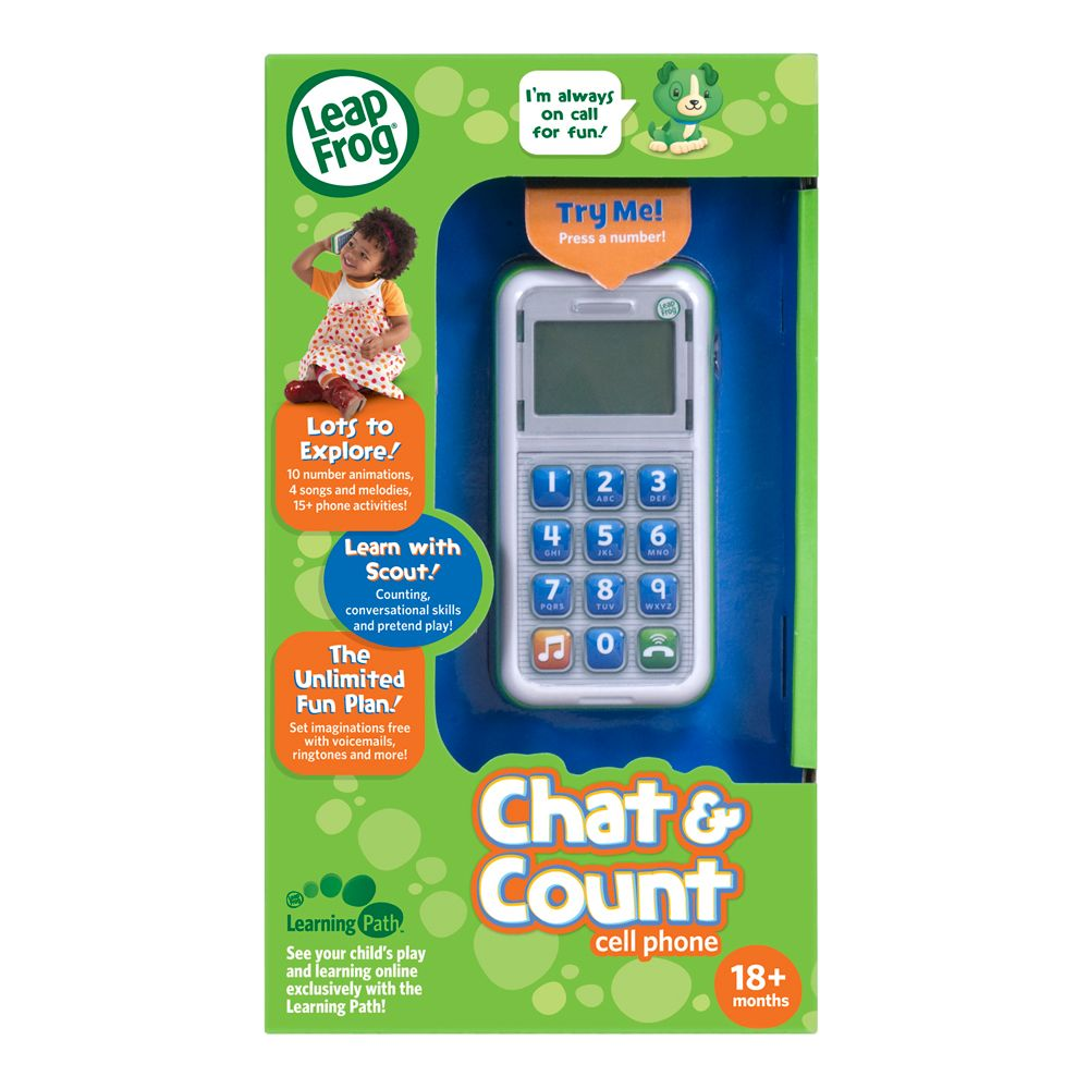 Leapfrog Chat & Count Phone - Scout 19145