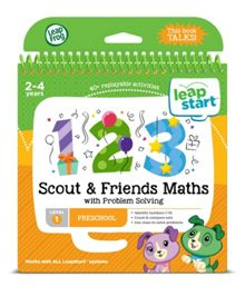 Leapfrog Scout & Friends Maths Activity Book