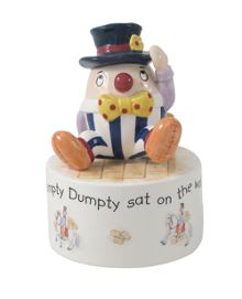 Aynsley Humpty Dumpty musical box