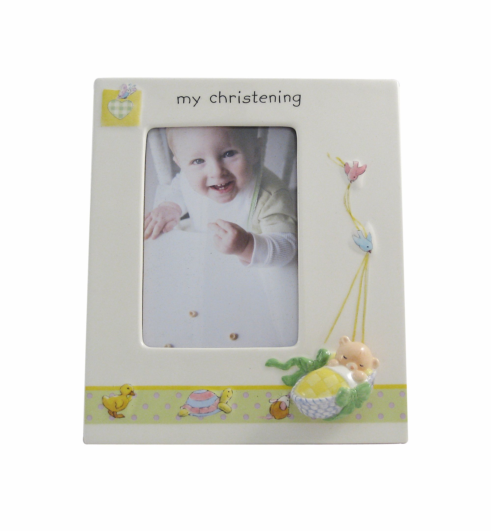 My christening photoframe