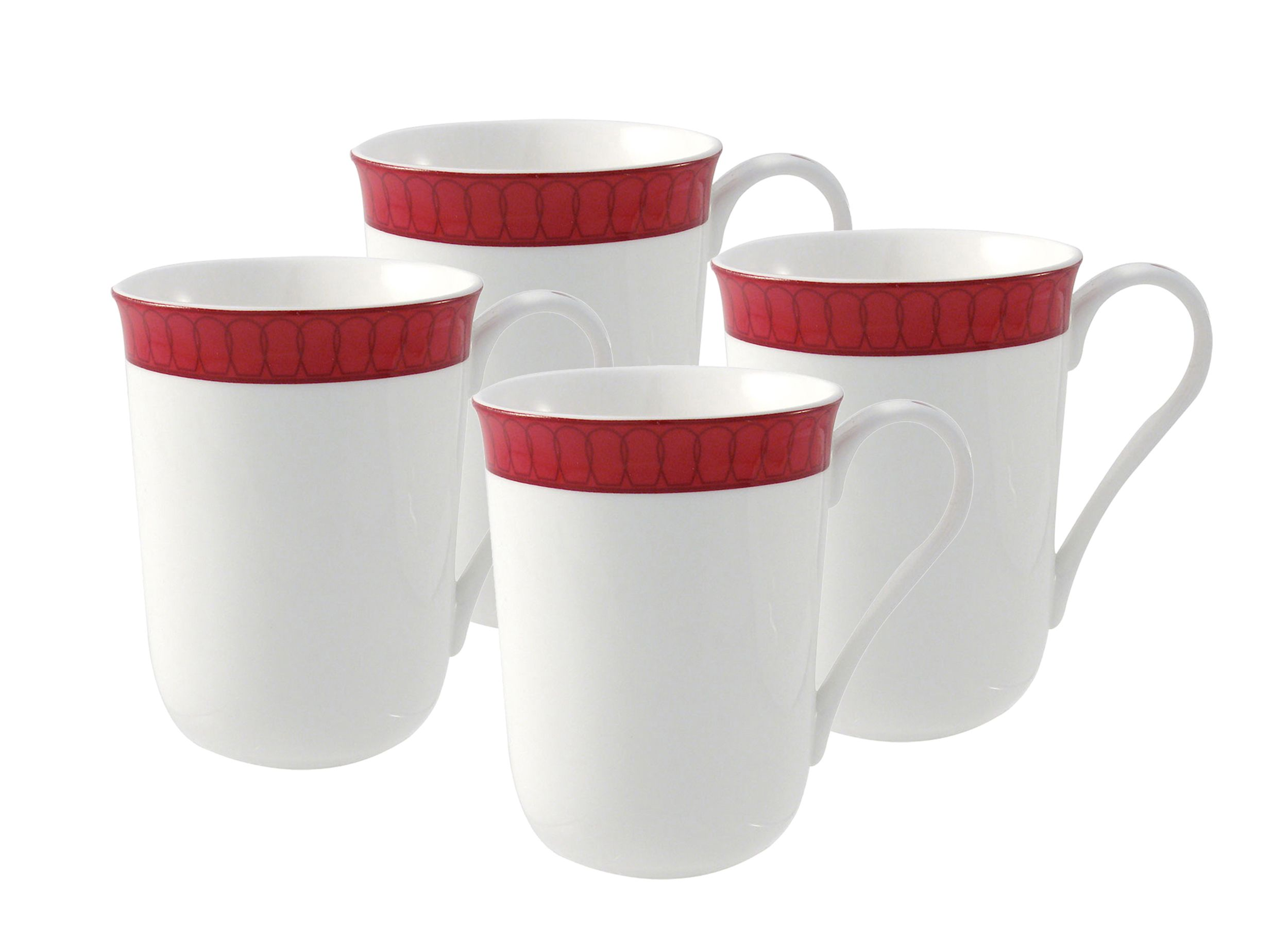 Aynsley Aynsley Madison four mug set