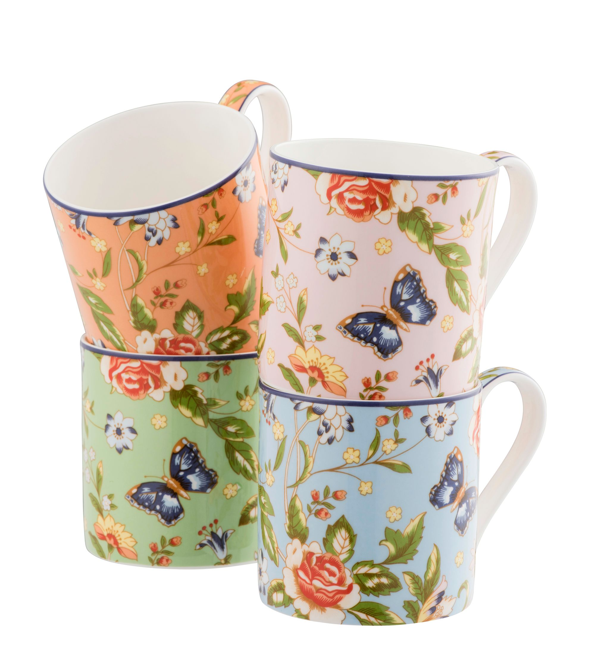 Aynsley Aynsley Cottage garden windsor mugs set of 4