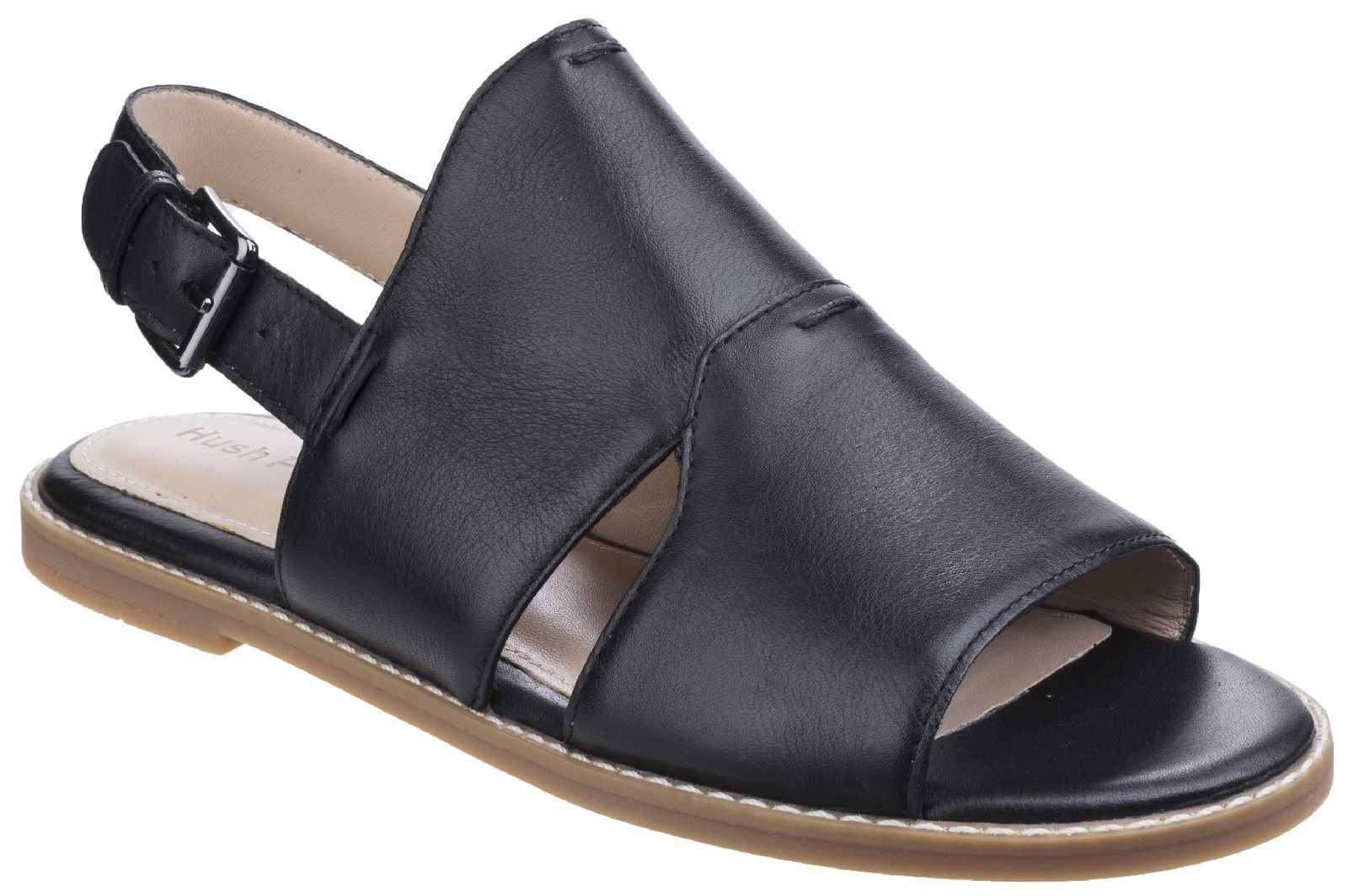Hush Puppies Adiron chrissie buckle sandals Black