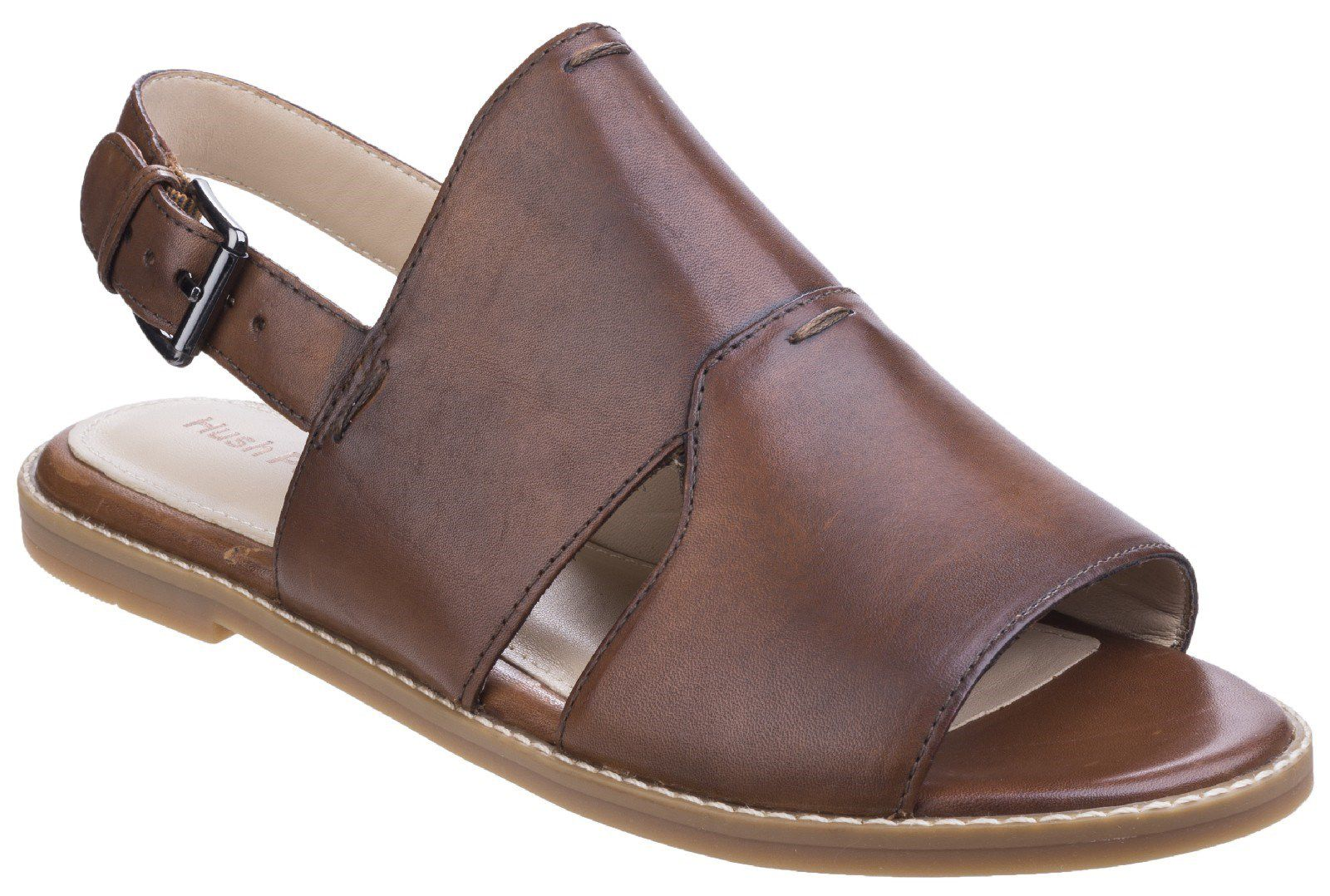 Hush Puppies Adiron chrissie buckle sandals Tan