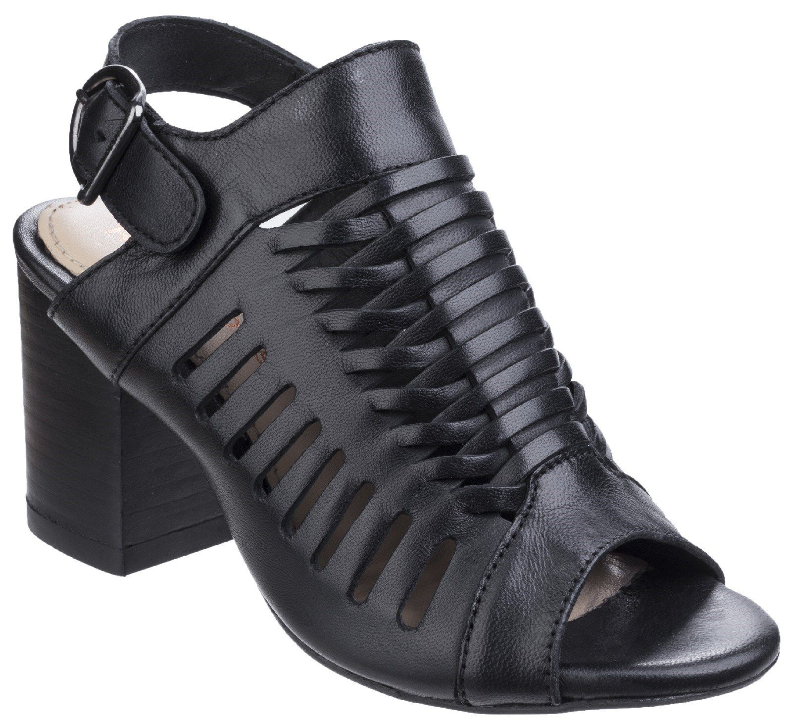 Hush Puppies Sidra malia heeled sandals Black