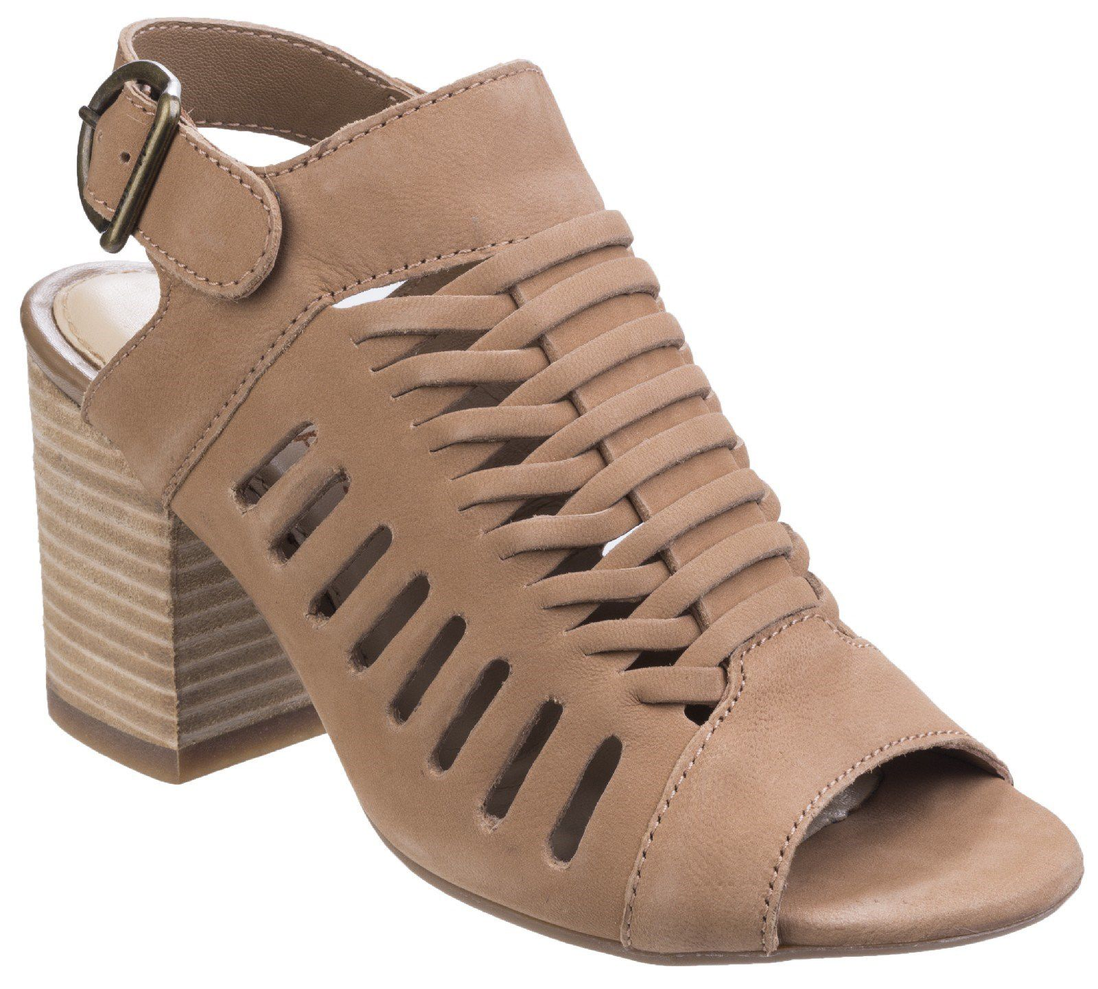 Hush Puppies Sidra malia heeled sandals Beige