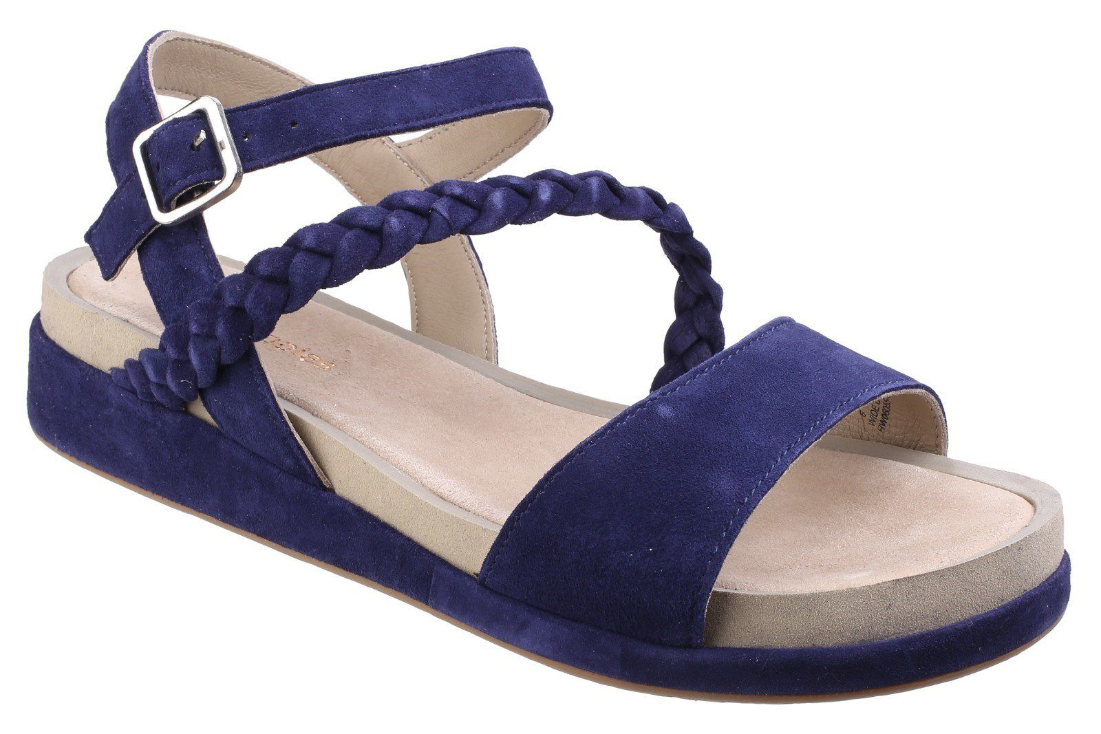 Hush Puppies Giovanna chrysta buckle sandals Blue