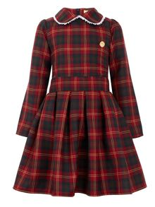 Star51 Girls: Sarah`s Tartan Pleat Dress