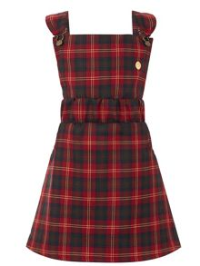 Star51 Girls: Angela`s Tartan Pinafore