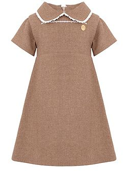 Girls: Diana`s Lace Trim Dress