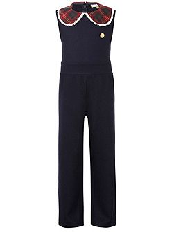 Girls: Phoebe`s Navy Jumpsuit