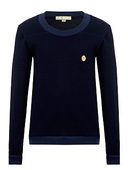 Boys: Benjamin`s Navy Jumper