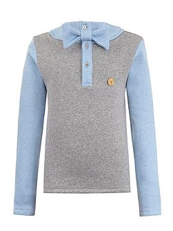 Boys Bow Tie Jumper