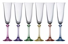 Galway Liberty party flutes set of 6