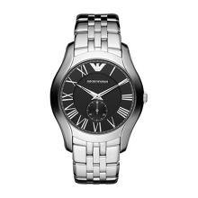 Emporio Armani Ar1706 Gents Silver Stainless Steel Bracelet Watc