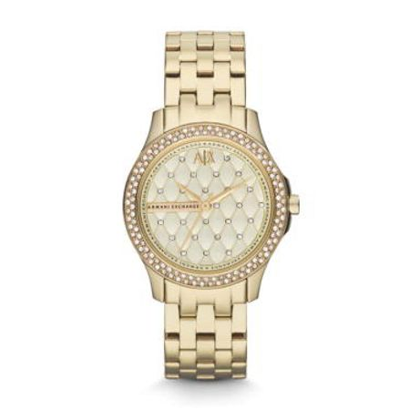 Armani Exchange AX5216 SMART gold stainless steel ladies watch