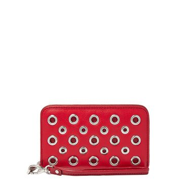 Fossil SL4762602 sydney zip phone wallet Red