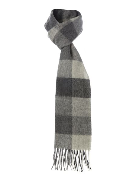 Barbour Large tattersall check scarf