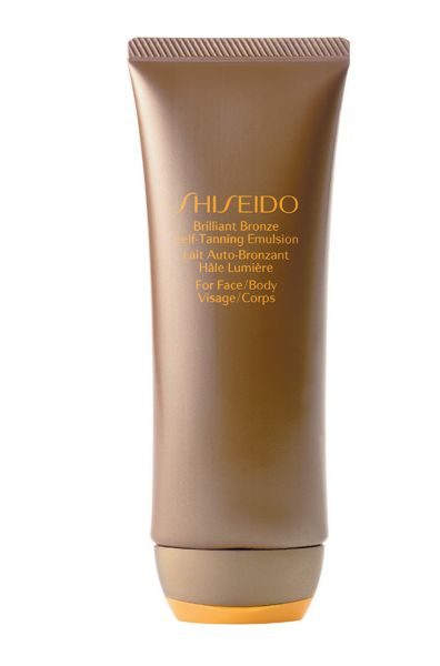 Shiseido Brilliant bronze self-tanning emulsion 100ml
