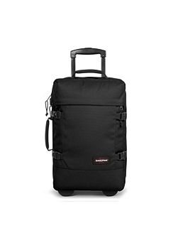 Tranverz small black wheeled suitcase