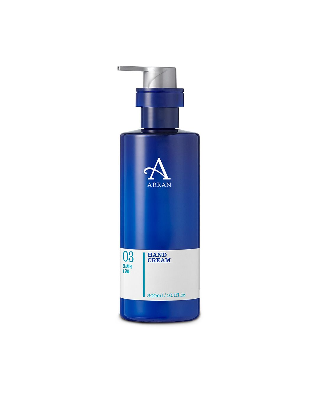 Arran Aromatics Seaweed & Sage Hand Cream 300ml