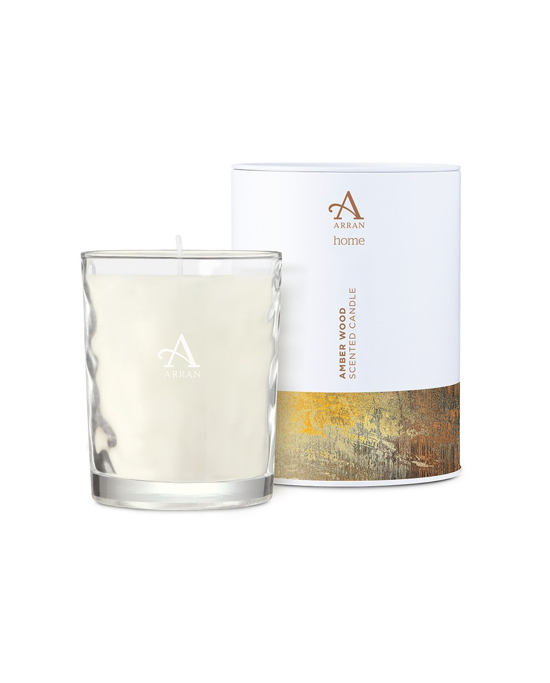 Image of Arran Aromatics Amberwood 35cl Candle in Tin